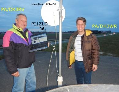 DK3RV & DH3WR @ access.pi1zld.ampr.org (2016-03-26)
